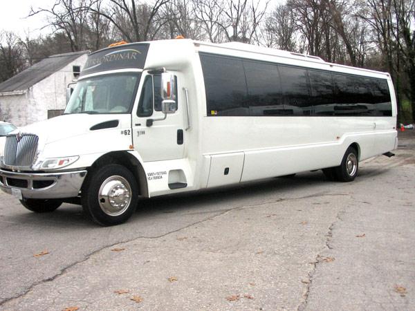35-37 passenger mini coach exterior