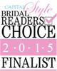 Capital Style Bridal Readers Choice 2015 Finalist Logo