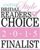 Capital Style Bridal Readers Choice 2015 Finalist Logo