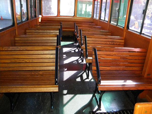 25-32 passenger mini coach interior